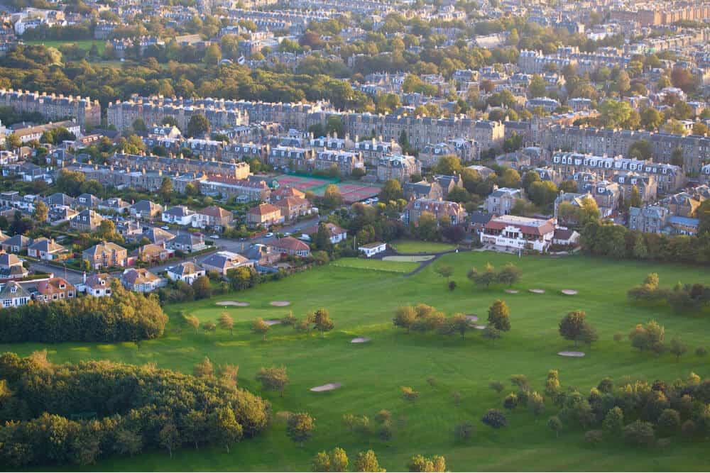 Golfbaan Edinburgh