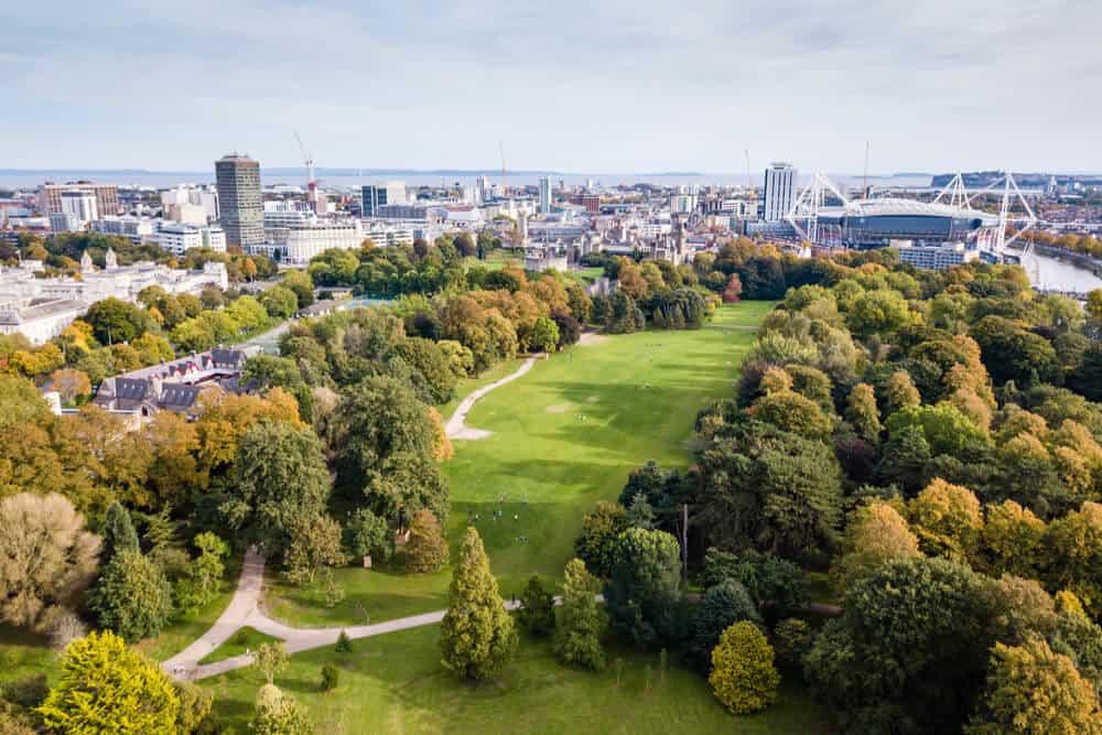 Golfbaan Cardiff