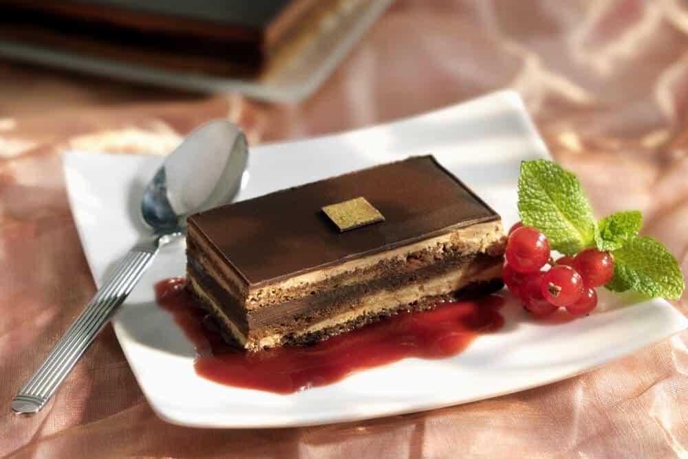 Opera chocolate cake